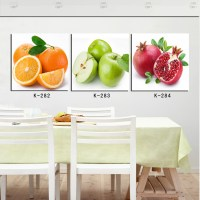 3 Panel Fruit Kitchen Dinning Wall Home Decor Pictures ...