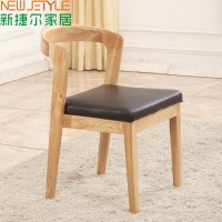 Solid wood dining table chair IKEA chairs Japanese Ash ...