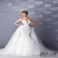 2015 New Romantic Illusion Goddess Style Wedding Dress ...