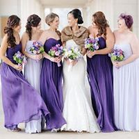 Long Light Purple Bridesmaid Dresses | www.imgkid.com ...