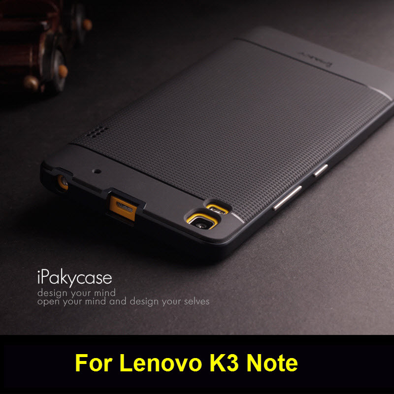 Lenovo-K3-Note-case-Ipaky-Brand-PC-Frame-Silicone-back-cover - cover note