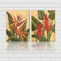 tropical wall art  Roselawnlutheran