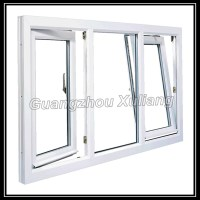 Cheap price house windows for sale Upvc tilt turn windows