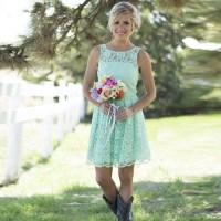 Short Country Wedding Dress | www.imgkid.com - The Image ...
