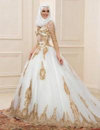 Popular Muslim Wedding Dress-Buy Cheap Muslim Wedding ...