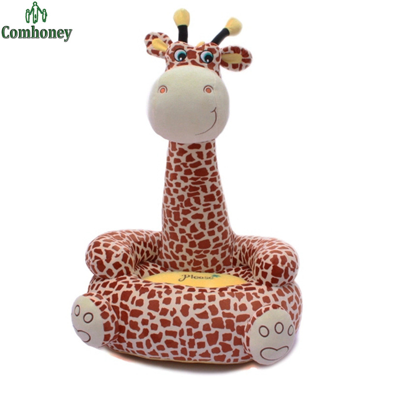 Baby seat beanbag cartoon kawaii cute giraffe children