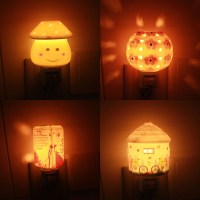 Christmas Gift Baby bedroom night lamp projection night ...