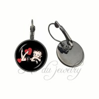 Online Buy Wholesale betty boop earrings from China betty ...