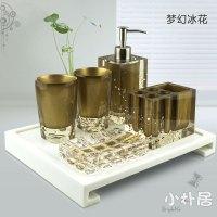 Small-five-pieces-bathroom-set-wash-set-fashion-resin ...