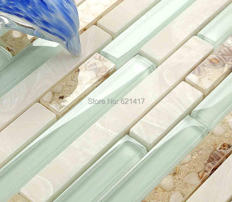 strip shell mosaic tiles hmgm backsplash kitchen wall tile sticker fix vinyl peel stick decorative backsplash kitchen tile sticker