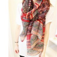 2015 New Fashion Trendy Bohemian Women's Long Print Scarf