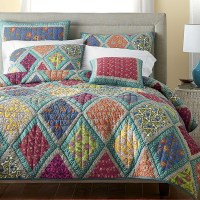 American Style 100% Cotton Quilted Handsewn Bedspreads ...