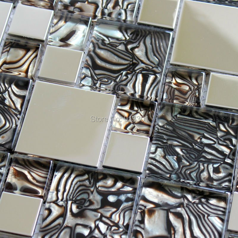 mosaic tiles mirror stainless steel kitchen wall tile backsplash cheap home improvements refference cheap kitchen backsplash