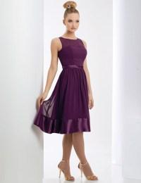 Short Purple Chiffon Bridesmaid Dresses | www.imgkid.com ...