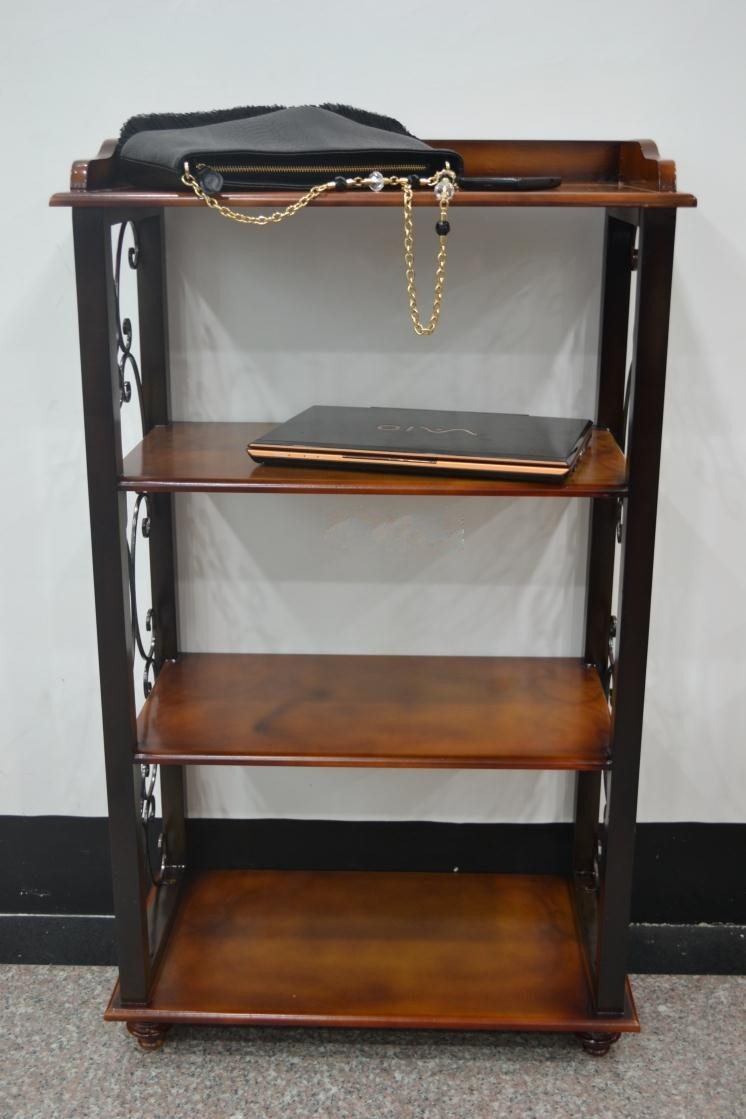 American Corner Cabinet Bathroom Shelf Bookcase Shelf