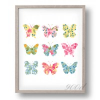 Wall Art Painting Butterfly | www.imgkid.com - The Image ...