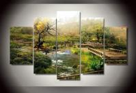 Aliexpress.com : Buy Framed Printed Natural scenery 5 ...