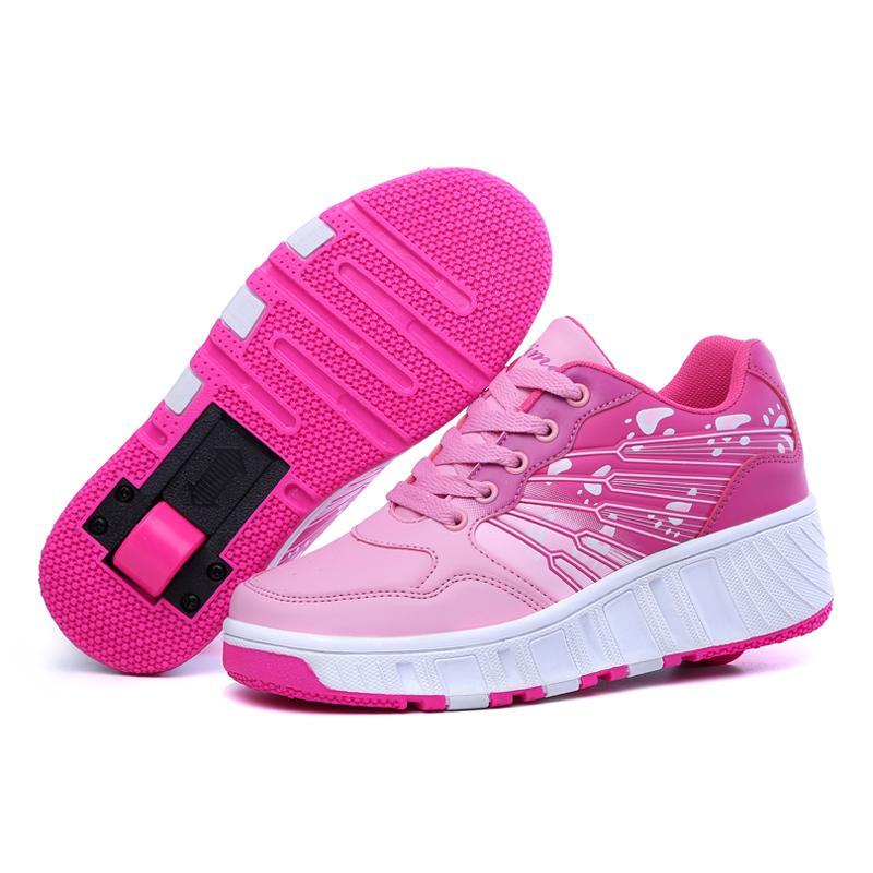 New Heelys Roller Skate Shoes For Kids Adults EU28-43 Zapatillas