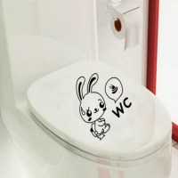 Buy 0353 New Funny Monkey Flowerpot Flower Bee PVC Sticker ...