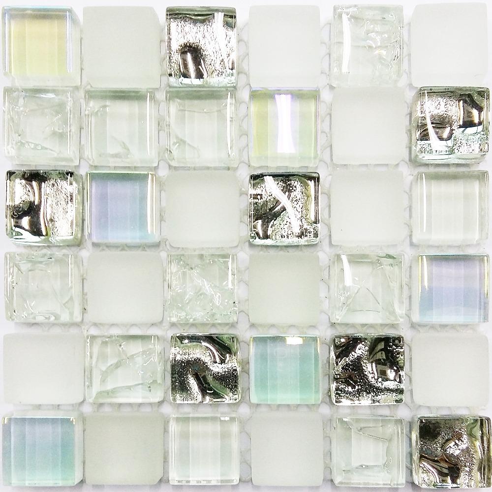 tile sample ice white iridescent aqua glass tile kitchen backsplash white kitchen cabinet glass metal backsplash tile backsplash