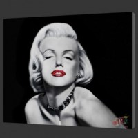 Marilyn Monroe portrait handpainted modern oil painting on ...