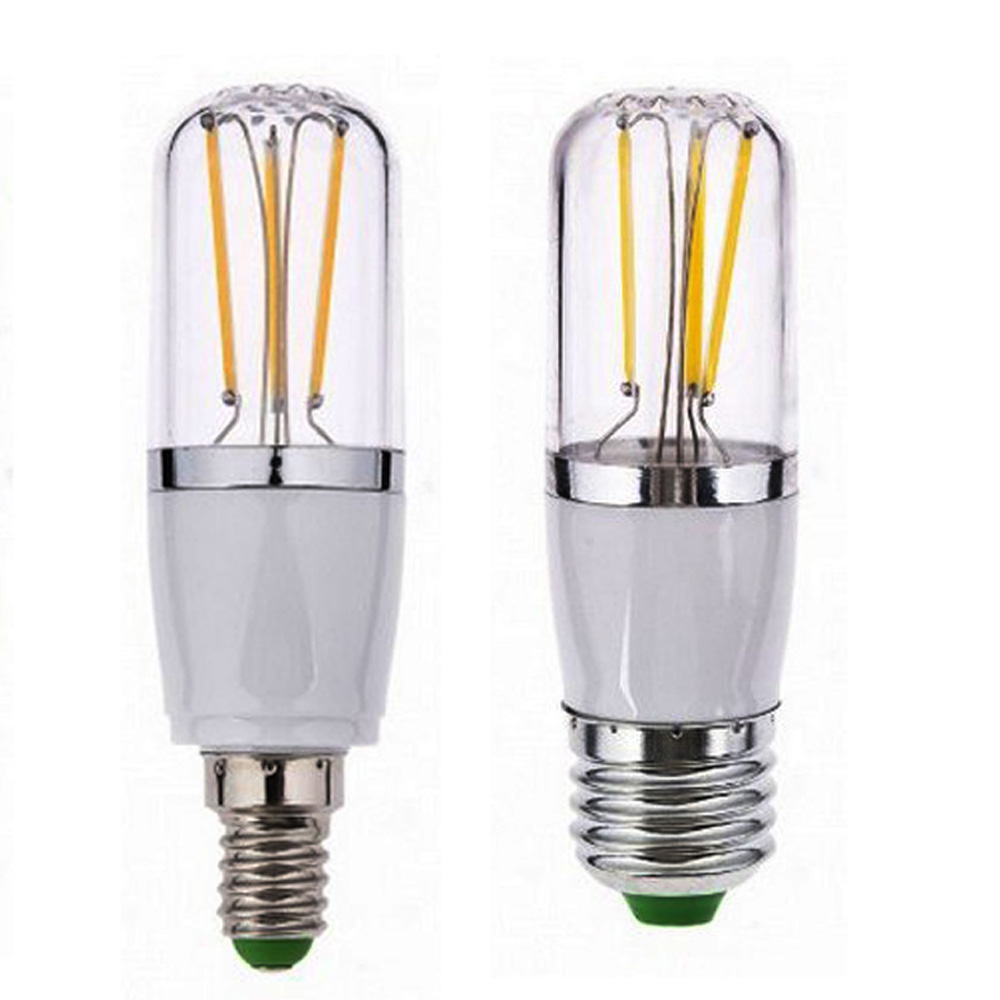 Led E 14 E27 Led E14 Cob Filament 12v Lamp Dimmable110v 220v Bulb 3w 6w E27 E14 Led Lamp Filament Housing Cob Corn Blub