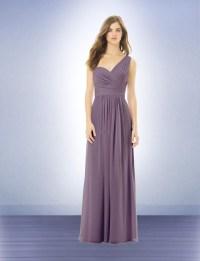 One Shoulder 2016 A Line Coral Long Bridesmaid Dresses ...