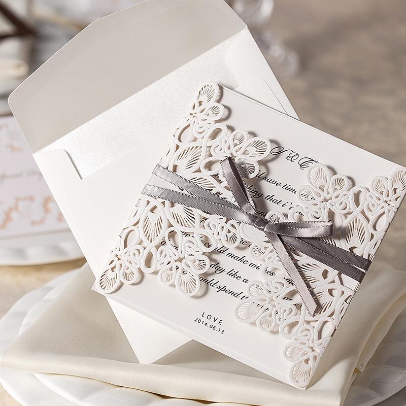 Buy Blank Wedding Invitation Cards – Blank Printable Wedding Invitations
