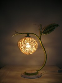 Rustic table lamp bar decoration lamps small night light ...