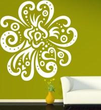 Popular Flower Vinyl Wall Art-Buy Cheap Flower Vinyl Wall ...