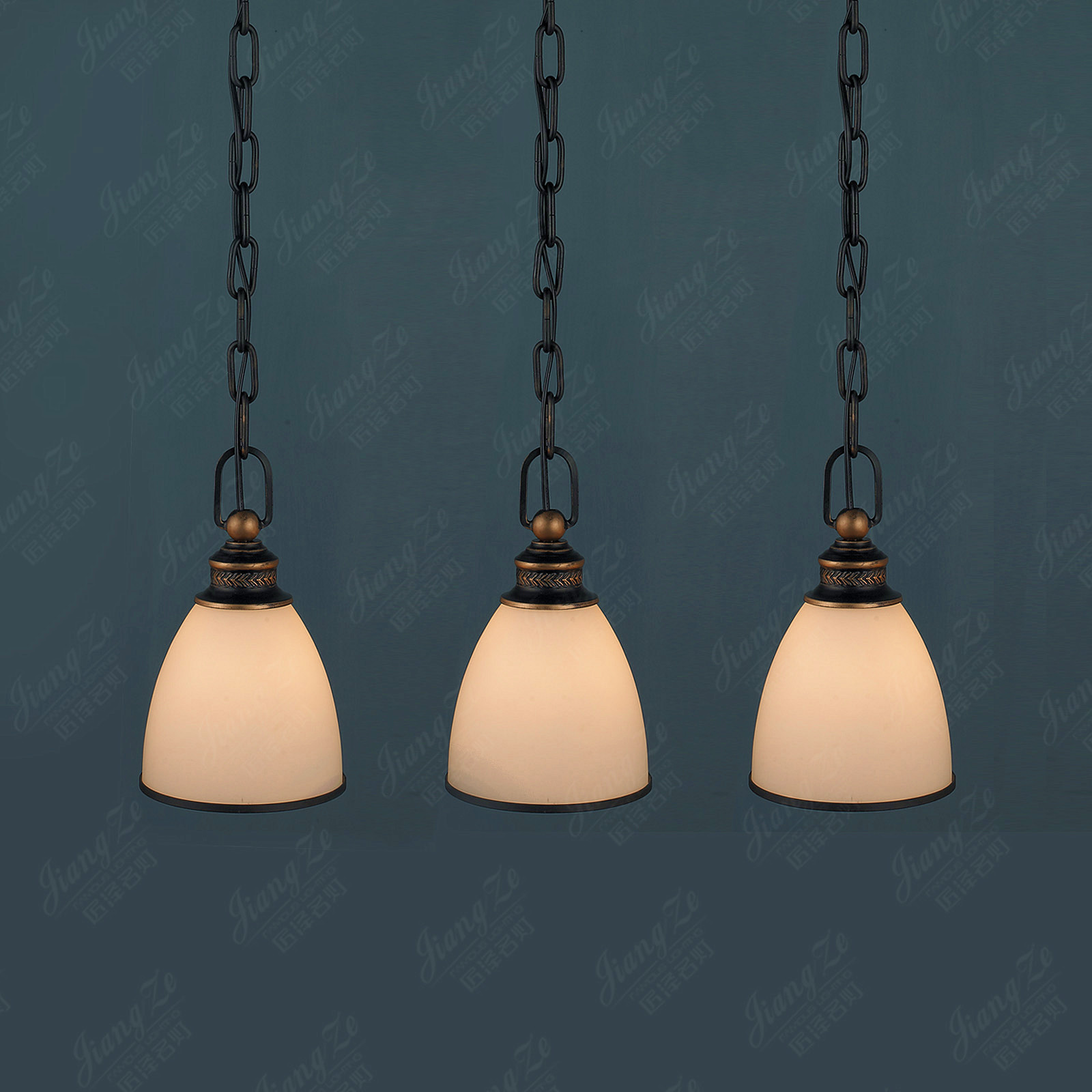 Pendant Bar Lighting Lamp American Style Pendant Light Bar Clothing Mini