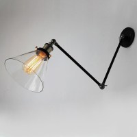 Vintage Industrial Wall Lamps Loft Swing Arm Wall Sconce ...
