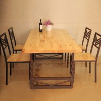 European custom solid wood dining table to do the old ...