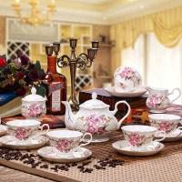 British Vintage Coffee Cup Set Black Tea Cup And Saucer ...