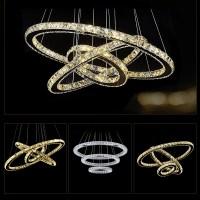 Aliexpress.com : Buy Modern Chandelier LED Crystal Ring ...