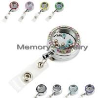 Aliexpress.com : Buy Locket badge holder metal glass ...