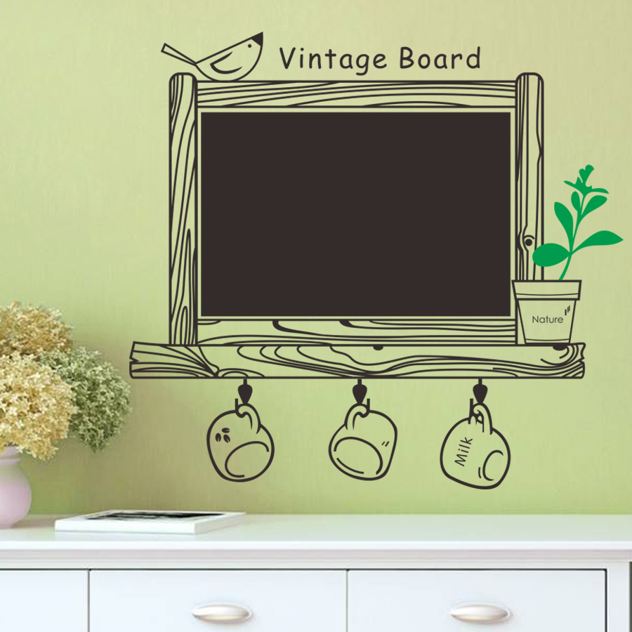 wall sticker kitchen chalkboard wall stickers home garden personalised kitchen wall sticker decals