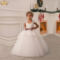 Ball Gown Puffy Flower Girl Dresses First Communion ...