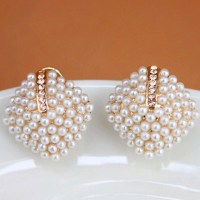 Online Buy Wholesale pearl stud earrings from China pearl ...