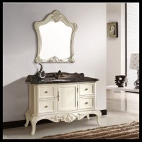 european french style solid wood bathroom furniture ...