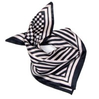 Online Buy Wholesale white silk scarf from China white