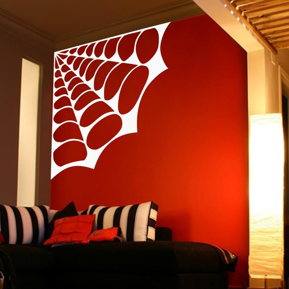 wall sticker home decor spider vinyl decal wall art mural vinyl wall lounge ornament sticker wall art mural decal windsor designers