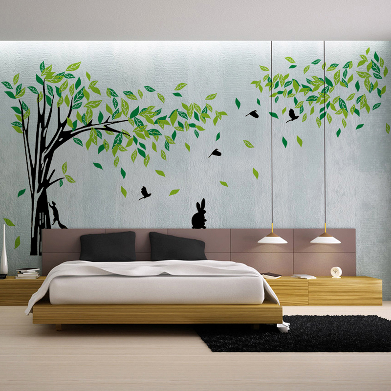 tree wall sticker vinyl living room wall stickers home wall decor vine tree large wall decals stickers appliques home decor
