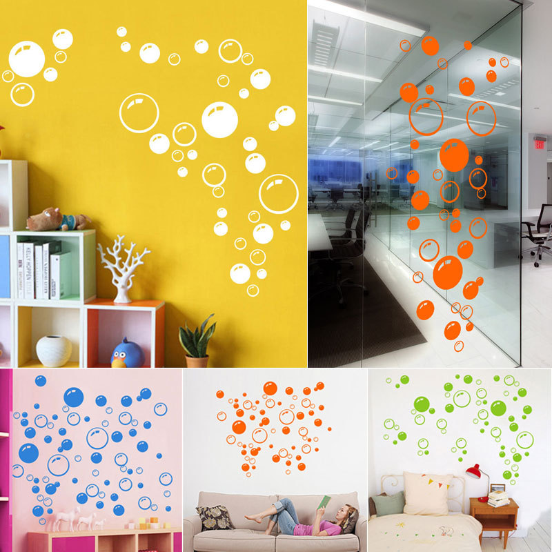 pcs lot bubbles wall art sticker bathroom window shower decor time bathroom vinyl wall art stickers wall decal wall quote art ebay