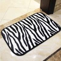 Online Kaufen Grohandel zebra bad teppich aus China zebra ...