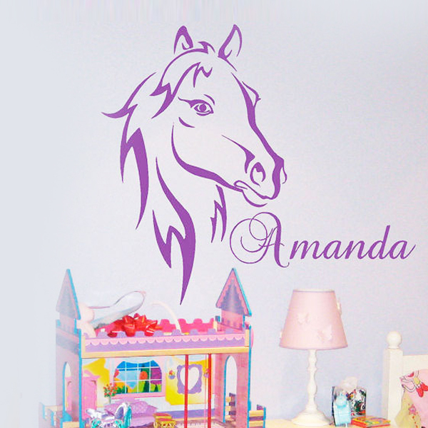 custom horse head vinyl wall stickers quote home decoration wall custom wall decals quotes quotesgram
