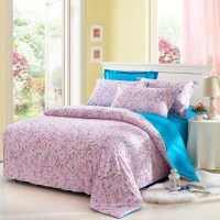 4pcs American country style 100% cotton bed linen set ...