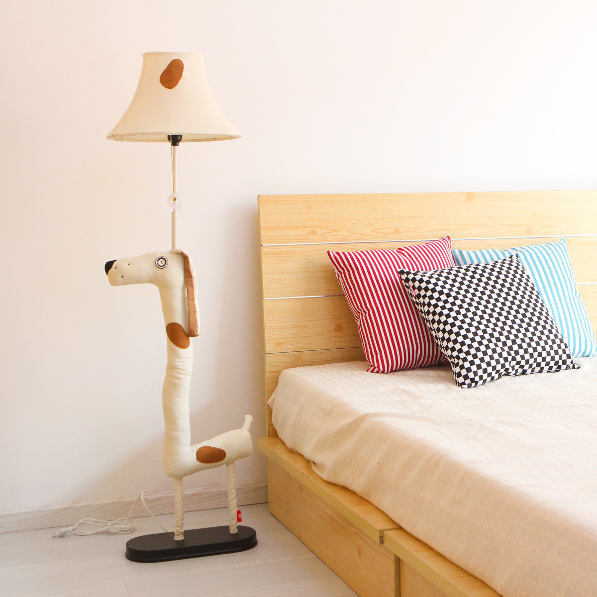 Bedroom Floor Lamps Cottage Brief Modern Cartoon Floor Lamp Bedroom Lamp