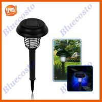 Solar LED UV Lamp Light Bug Zapper Pest Insect Mosquito ...