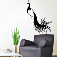 Popular Peacock Wall Decal